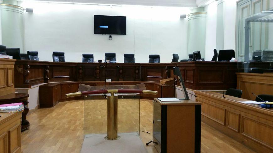 La salle de la cour d'assises de Gironde