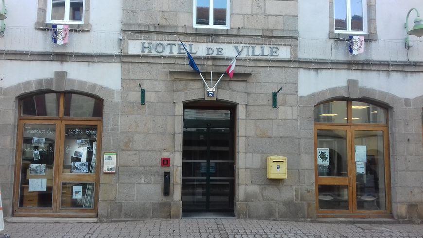 L'hôtel de ville de Saint-Agrève