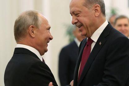 Poutine et Erdogan : la Syrie au cœur de la rencontre