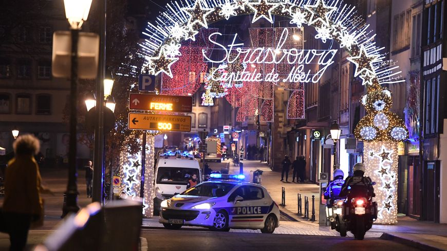 L'attentat de Strasbourg le 11 décembre 2018 a fait 5 morts et 11 blessés.