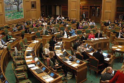 Session du Parlement danois en 2011