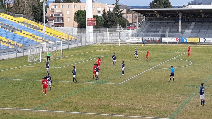 Les avignonnaises de l'ACA ont perdu face à Grenoble en 8e de finale de la Coupe de France aux tirs aux buts.