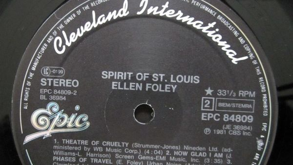 Ellen Foley Album spirit of st louis album 1981