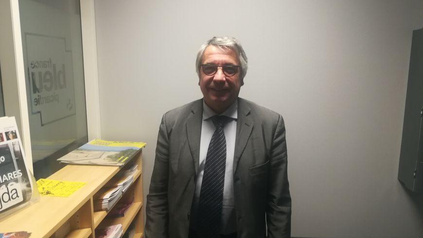 Laurent Somon, président LR du conseil départemental de la Somme