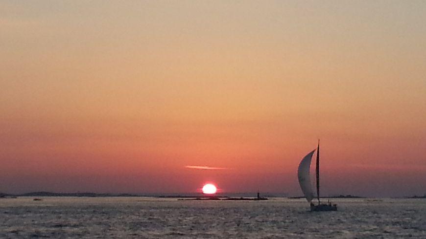 La Solitaire du Figaro, en Mer d'Iroise