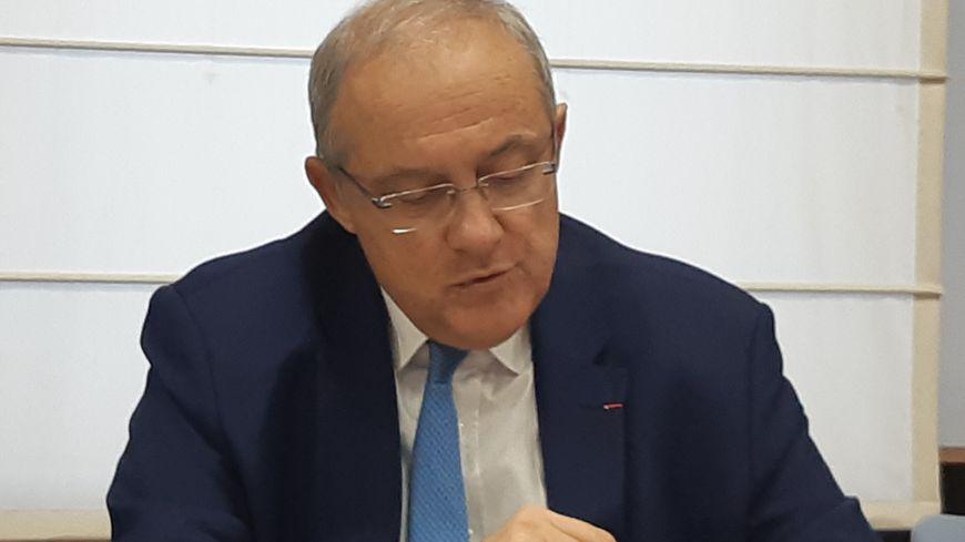 Le préfet du Gard Didier Lauga.