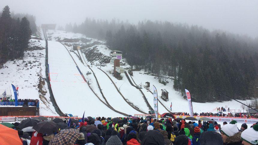 La coupe du monde de combiné nordique à Chaux-Neuve (Doubs) en janvier 2018