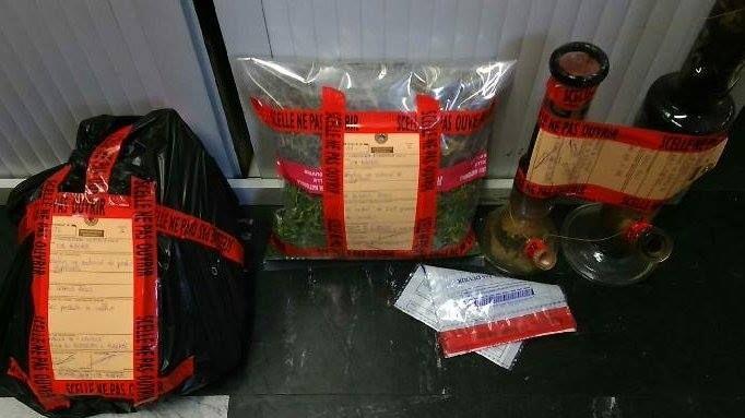 Les gendarmes ont découvert 260 grammes de cannabis.
