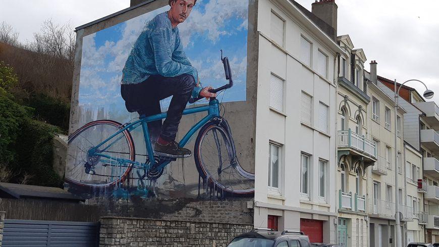 Une Fresque Murale De Boulogne Sur Mer Distinguée Parmi Les