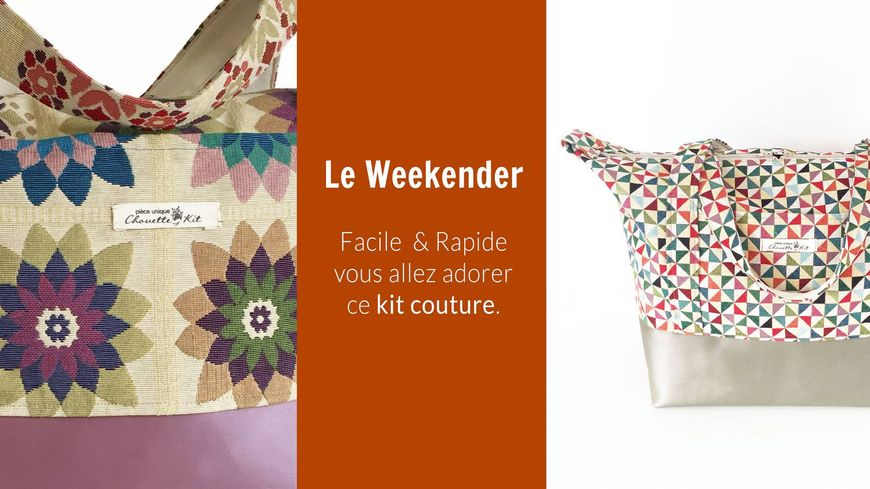 L'un des kits de couture Chouette Kit, entreprise de Guidel (56)