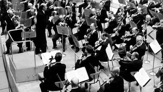 Orchestre de la Radio de Berlin, direction Ferenc Fricsay