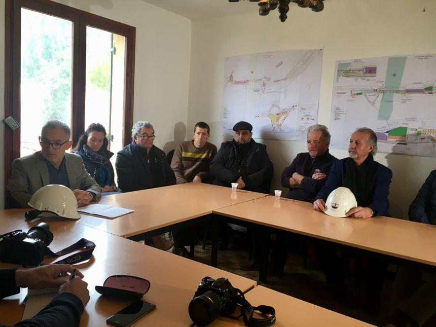 Les entreprises périgourdines sont en colère après la suspension du chantier de la déviation de Beynac.