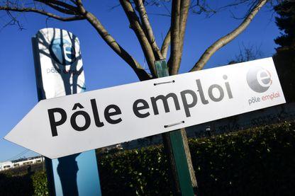 Une agence Pôle Emploi à Montpellier, dans l'Hérault, 3 janvier 2019.