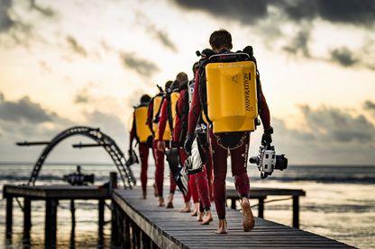 Plongeurs de l'expédition Gombessa IV