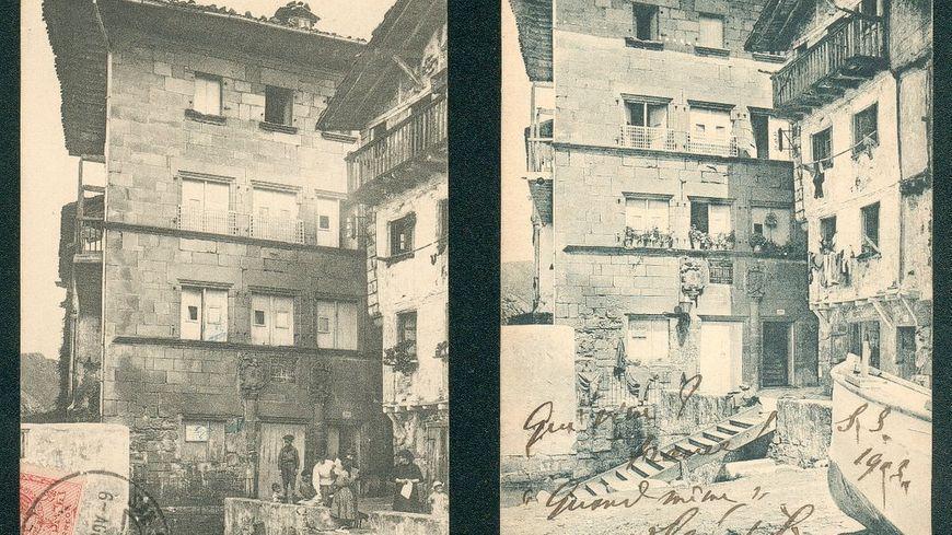La maison de Pasajes San Juan où séjourna Bittor Hugo