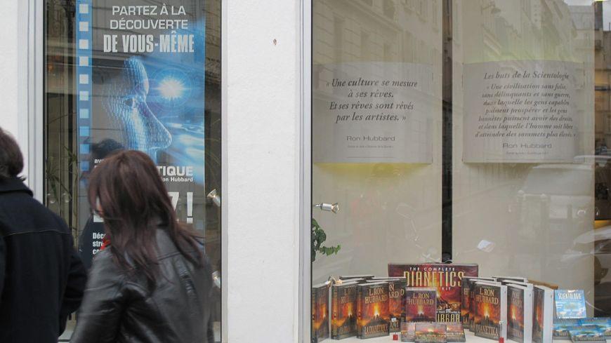 Les locaux parisiens de la scientologie, en 2012