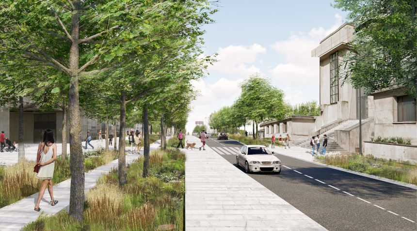 La rue des Tanneurs à Tours dans le projet du cabinet TER