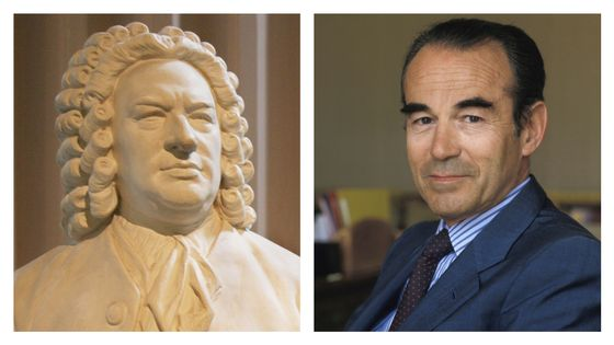 Bach et Robert Badinter