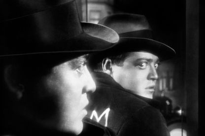 """L'acteur Peter Lorre dans """"M le Maudit"""" de Fritz Lang réalisé en 1931"""