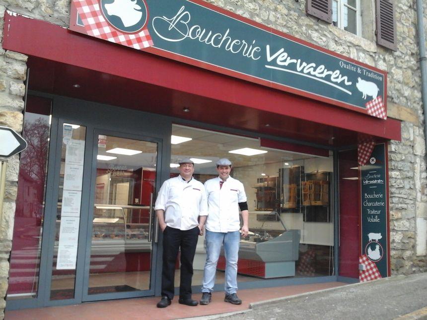 Philippe et Maxime, commerçants de village et fier de l'être !