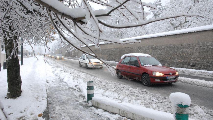 Neige dans le Loiret, le 30 novembre 2010