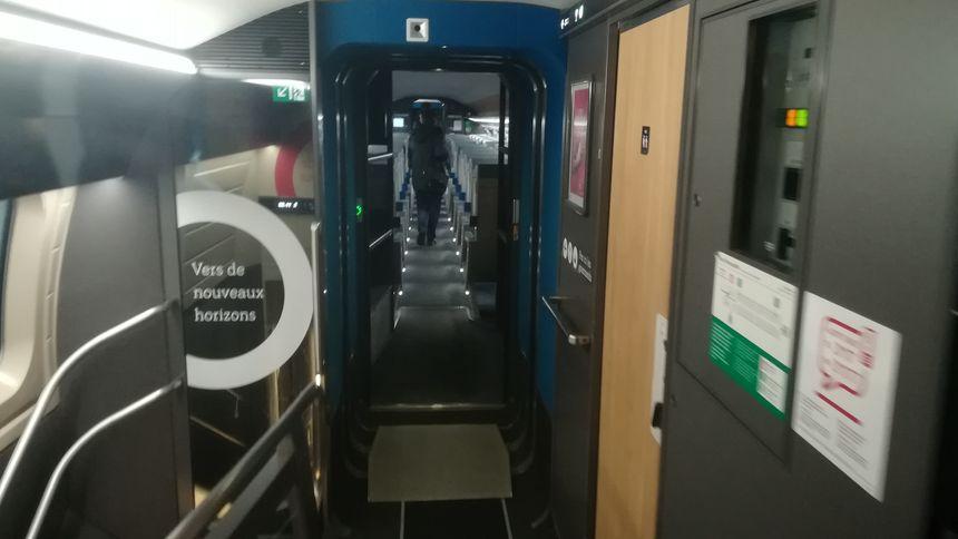 6 TGV Inouï circulent actuellement sur la ligne Brest-Paris