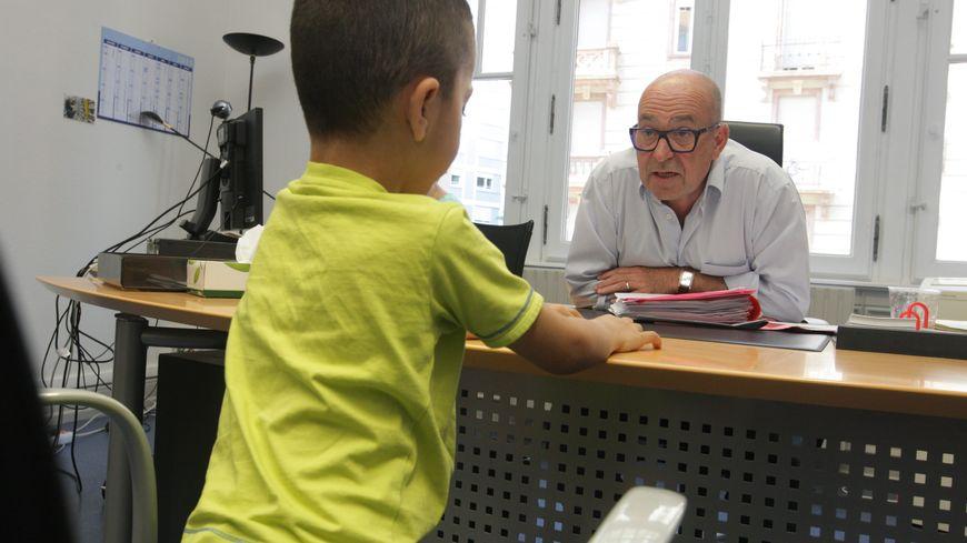 Dans le bureau d'un juge pour enfants (photo d'illustration)