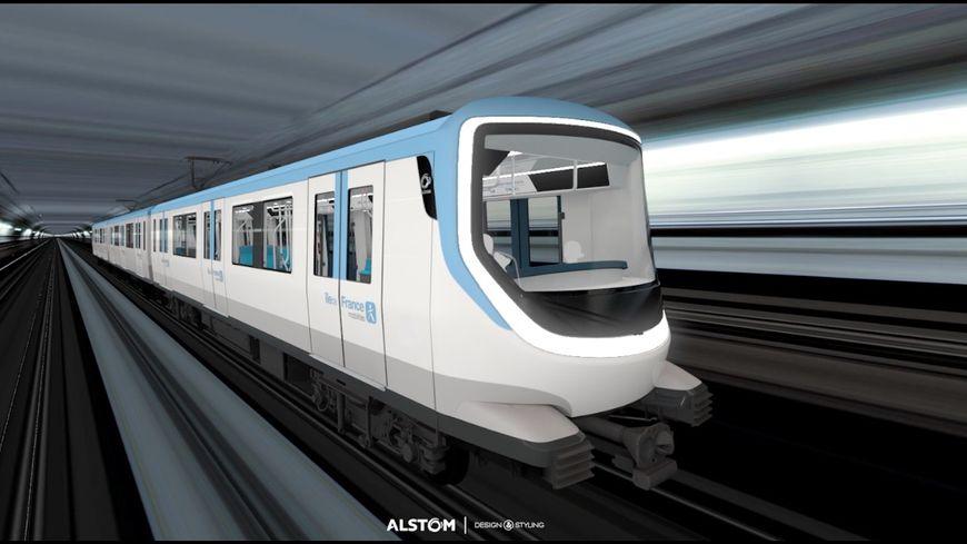 Les Franciliens ont choisi l'apparence des rames du futur métro du Grand Paris