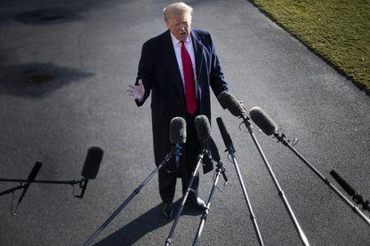 Dimanche 6 janvier 2019 à la Maison Blanche, Le président Donald Trump est resté ferme sur sa demande de milliards de dollars pour financer un mur frontalier avec le Mexique, ce qui a contraint le gouvernement américain à fermer ses portes pour entre