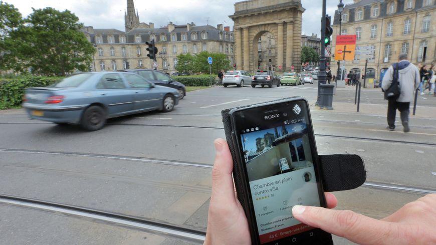Il y a près de 10 mille logements à Bordeaux sur les plateformes de location du type Airbnb.
