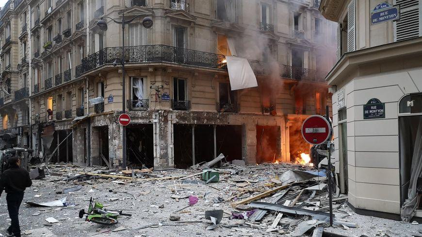 L'explosion s'est produite suite à un incendie, selon la préfecture de police