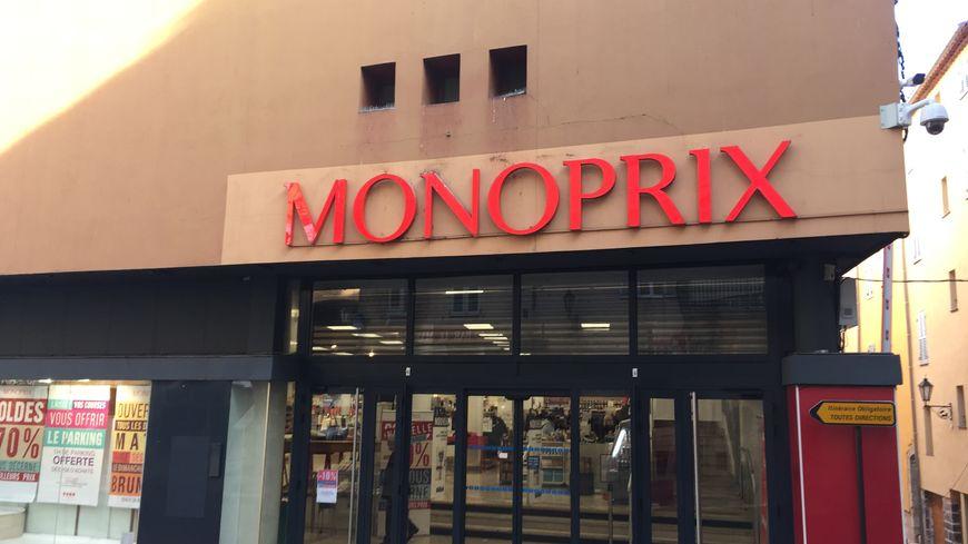 Le magasin Monoprix du centre-ville de Grasse fermera ses portes en octobe 2020