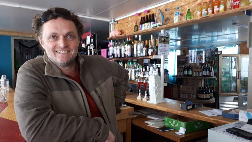 """Jouany Chatoux, le patron de la """"ferme Bio de Pigerolles"""" est prêt à former d'autres agriculteurs"""