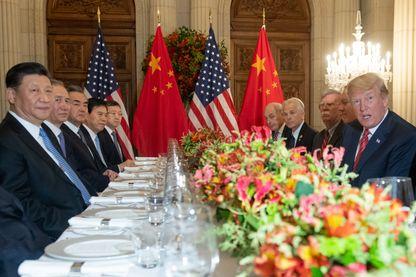 La rencontre Trump Xi Jinping au G20 de Buenos Aires en décembre qui a débouché sur une trêve dans la guerre commerciale