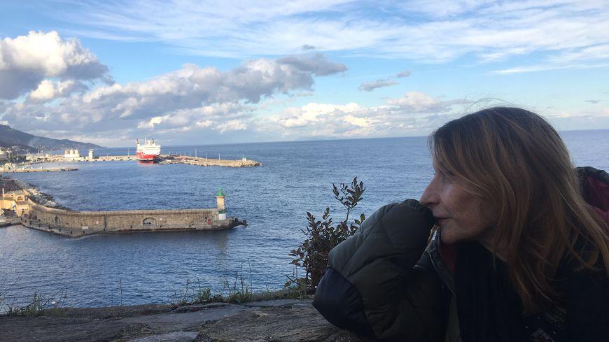Patrizia Gattaceca à la citadelle de Bastia