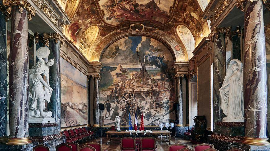 Salle des mariages à Toulouse