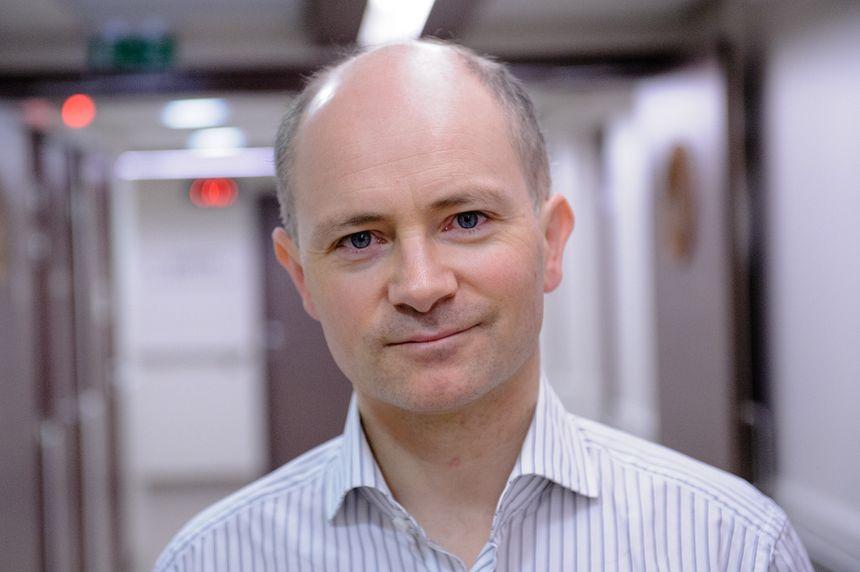 Le docteur Thomas Mognetti, chef du département Médecine Nucléaire à Léon Bérard (Lyon)