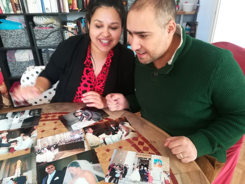 Les photos du mariage de Diane et Guy-Khaled seront notamment exposées