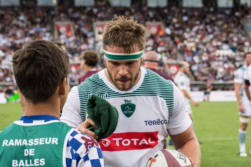 Quentin Lespiaucq, de retour avec la Section.