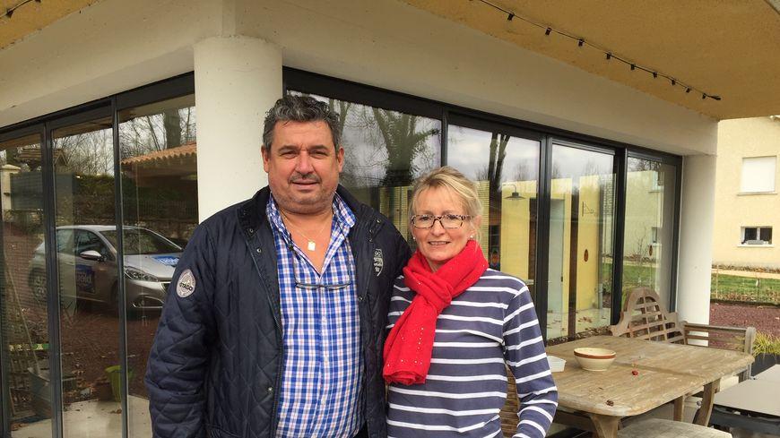 Joanne et Patrick Marty, un couple franco-britannique vivant à Lisle