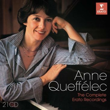 Anne Queffelec : the Complete Erato Recordings ERATO
