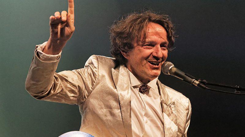 Goran Bregovic en concert le 25 juillet 2013 au Festival de Cornouaille.
