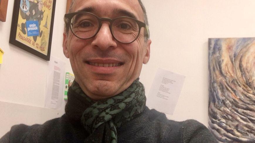Bernard Gaufryau chef d'établissement du lycée Armand David à Hasparren