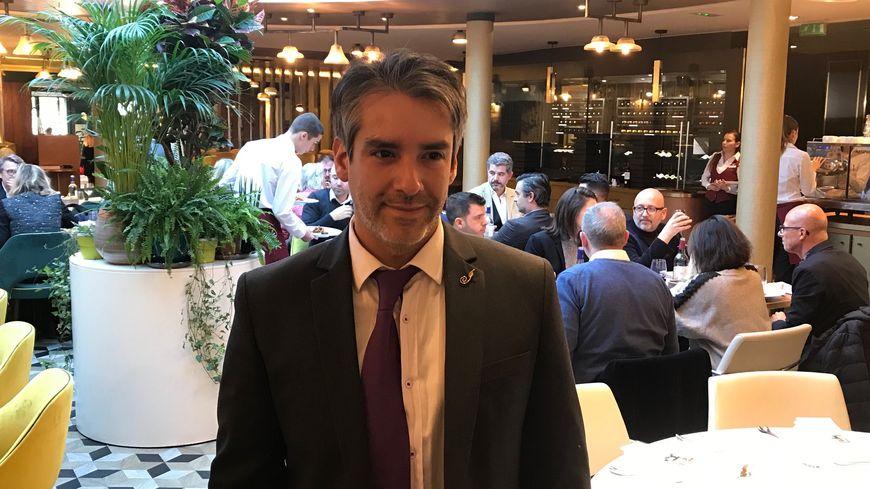 Sébastien Bize, le directeur du Burdigala à Bordeaux.