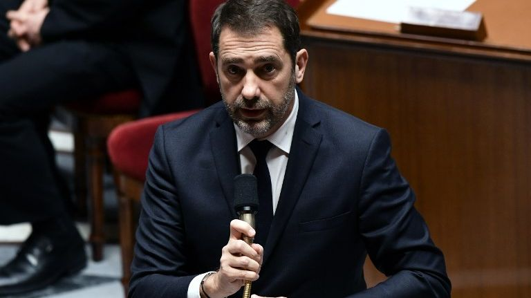 """Christophe Castaner, le Ministre de l'Intérieur défend le projet de loi dit """"anti-casseur"""" à l'Assemblée"""