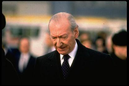 Le président fédéral de la République autrichienne Kurt Waldheim en 1988