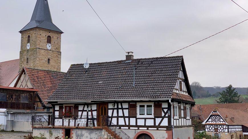 Drachelbronn-Birlenbach rue principale
