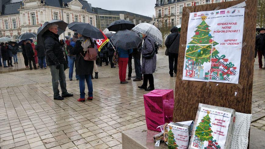 Manifestation des retraités du 31/01/2019