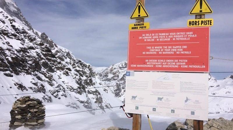 Les 39 skieurs se sont retrouvés bloqués en secteur hors-piste.