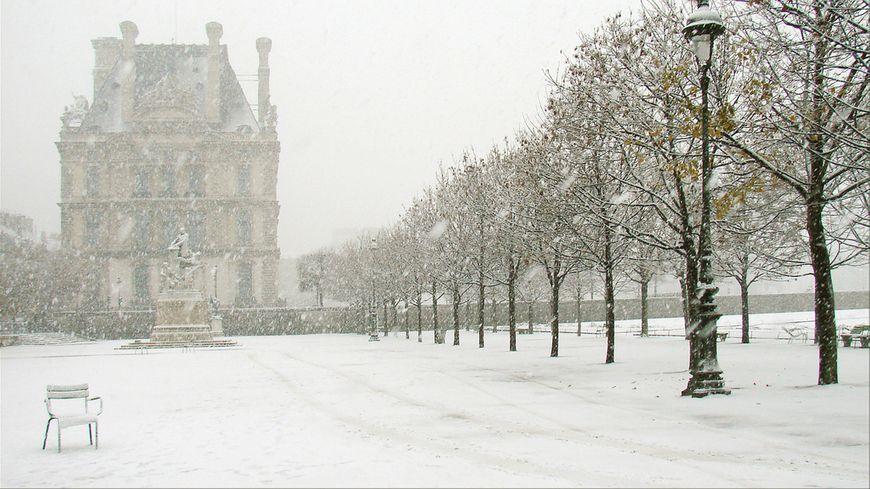 Les 3 visages de la neige à Paris